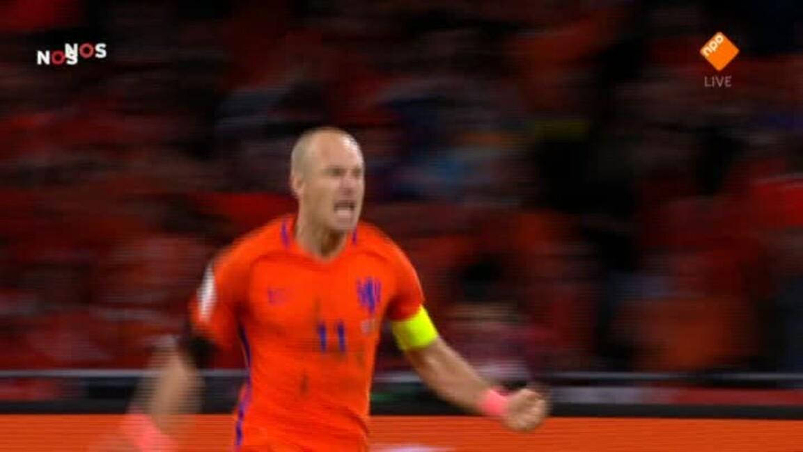 Nos Wk-kwalificatie Voetbal - Nos Wk-kwalificatie Voetbal (v) Nederland - Tsjechië Tweede Helft