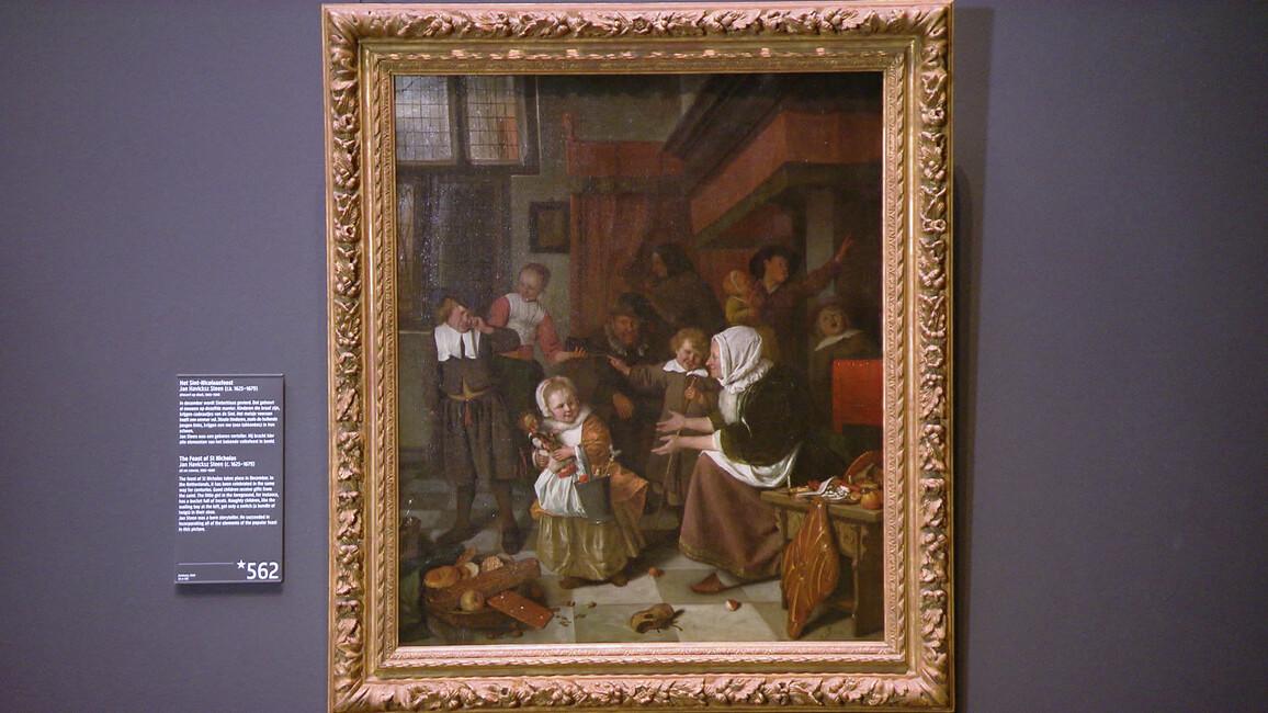 Sint Nicolaasfeest Rijksmuseum.Wie Zoet Is Krijgt Lekkers Wie Stout Is De Roe Gemist